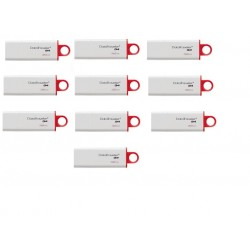 PACK 10 PENDRIVES 32 GB Kingston  USB 3.0